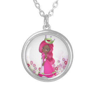 African American Princess Necklaces