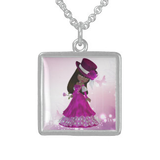 African American Princess Necklace