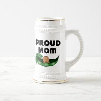 African American Proud Mom (Peapod) Mug