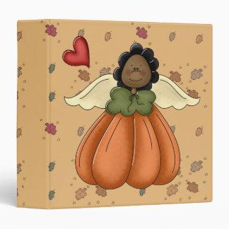african american pumpkin angel binders