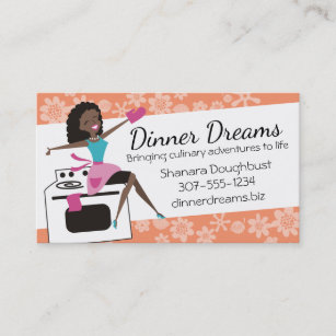 African american woman business cards zazzle african american retro housewife cooking baking business card colourmoves