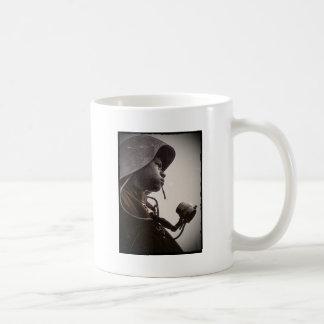 African American Rosie Riveter Classic White Coffee Mug