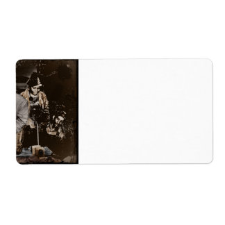 African American Rosie Riveters WWII Label