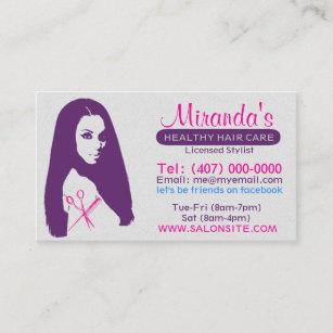 African american hair stylist business cards templates zazzle african american salon businessappointment cards colourmoves