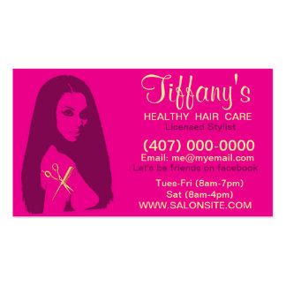 African American Salon Business/Appointment Cards Business Card