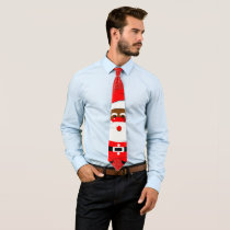 African-American Santa Claus Christmas holidays Neck Tie