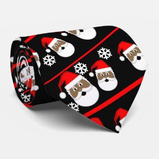 African American Santa Tie