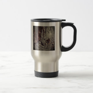 African American Soldiers on Guam WWII Travel Mug