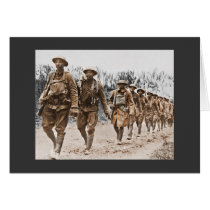 African American Soldiers WWI Card