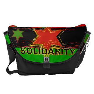 African American Solidarity Messenger Bag