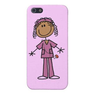 African American Stick Figure Nurse iPhone 5 Cover