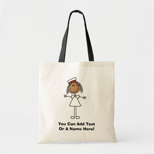 African American Stick Figure Tshirts and Gifts Canvas Bags