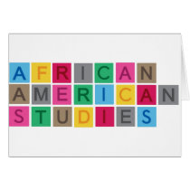 African American Studies Card