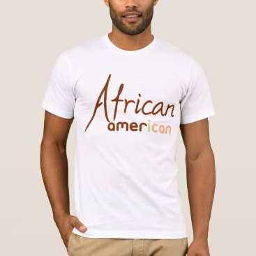 USA Themed African American T-Shirt