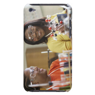 African American teenagers in science class iPod Touch Covers