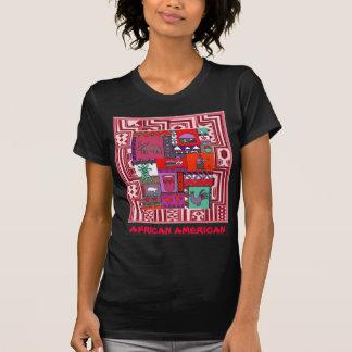 African American Village life - Aftrican Art Tee Shirt