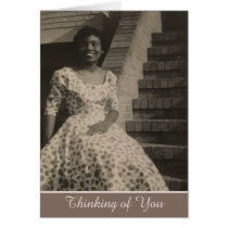 African American Vintage Thinking of You