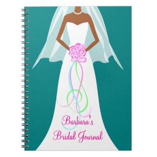 African American Wedding - Bridal Journal Notebook
