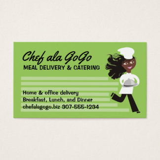 caterers business cards