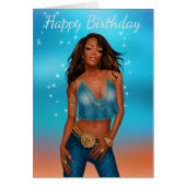 African American greeting Cards