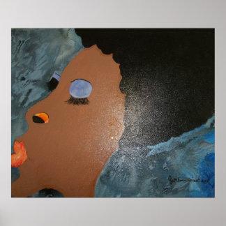 African American women art print poster