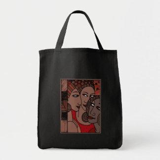 African American Women Tote Bags