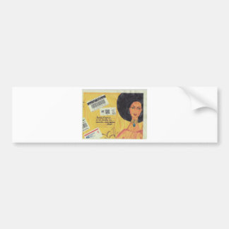 African American Women Envelope Car Bumper Sticker