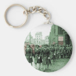 African American Women Marching Key Chains