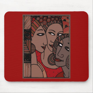 African American Women Mouse Pad