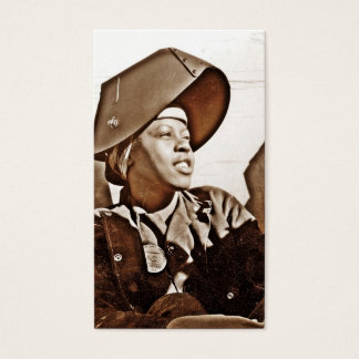 African American Women Patriots Business Card