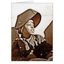 African American Women Patriots Card
