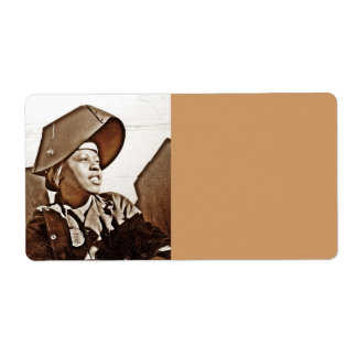 African American Women Patriots Shipping Label