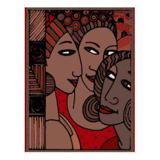 African American Women Postcard