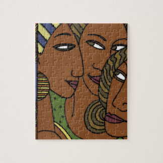 African American women sister friends Puzzles