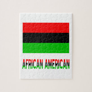 African American & Words Jigsaw Puzzle