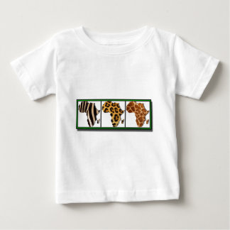 African Animal Collage2 Baby T-Shirt