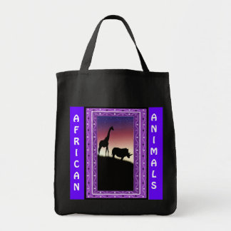 African Animals 4 Tote Bag