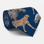 African Animals Corbata Personalizada