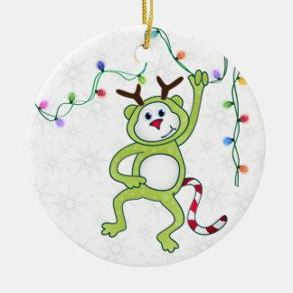 African Animals Monkey Christmas 1 Ornament