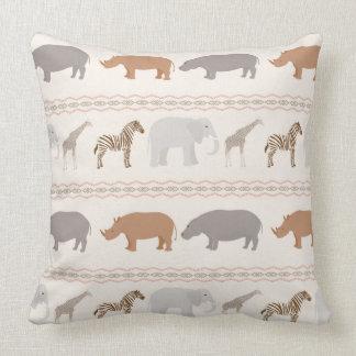 Animal Body Pillow Pattern : African Animal Pillows, African Animal Throw Pillows