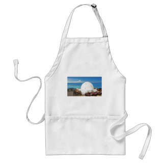 african architecture adult apron