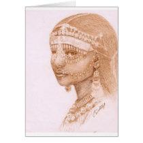 African Ark princess Card