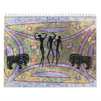 African Art Calendar