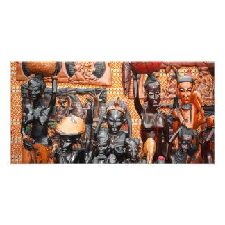 African art card