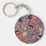 African art keychains