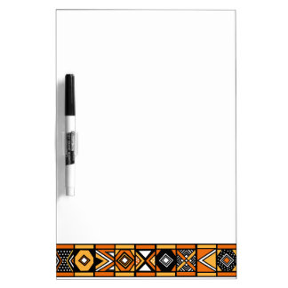African art pattern dry erase boards