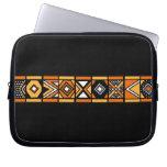 African art pattern laptop sleeves