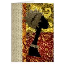 African  Autumn Card
