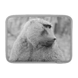 African baboon MacBook sleeve