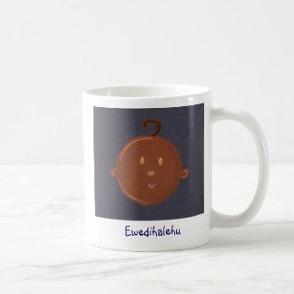 african baby coffee mug